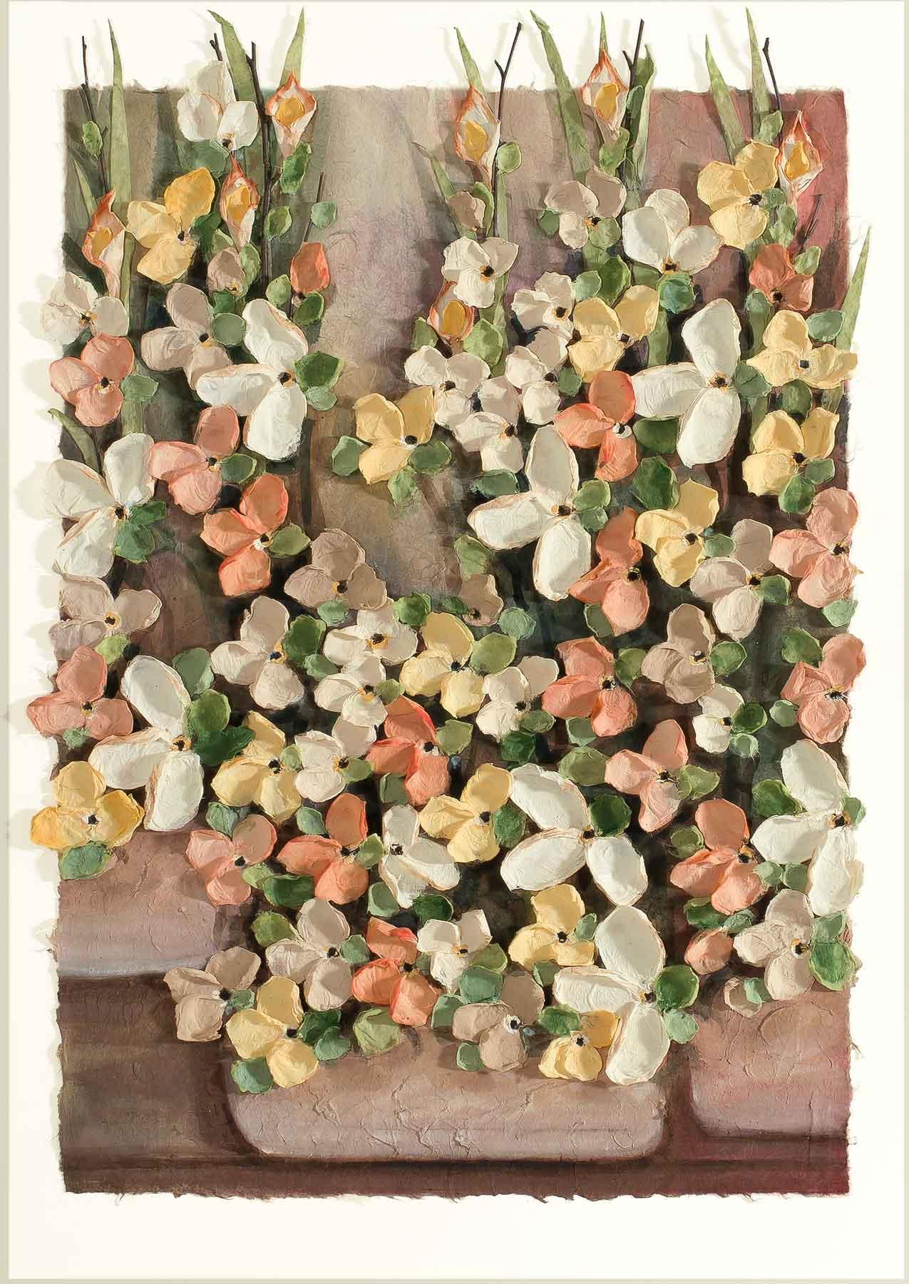 Copy of Mist Floral Flowers 11x14