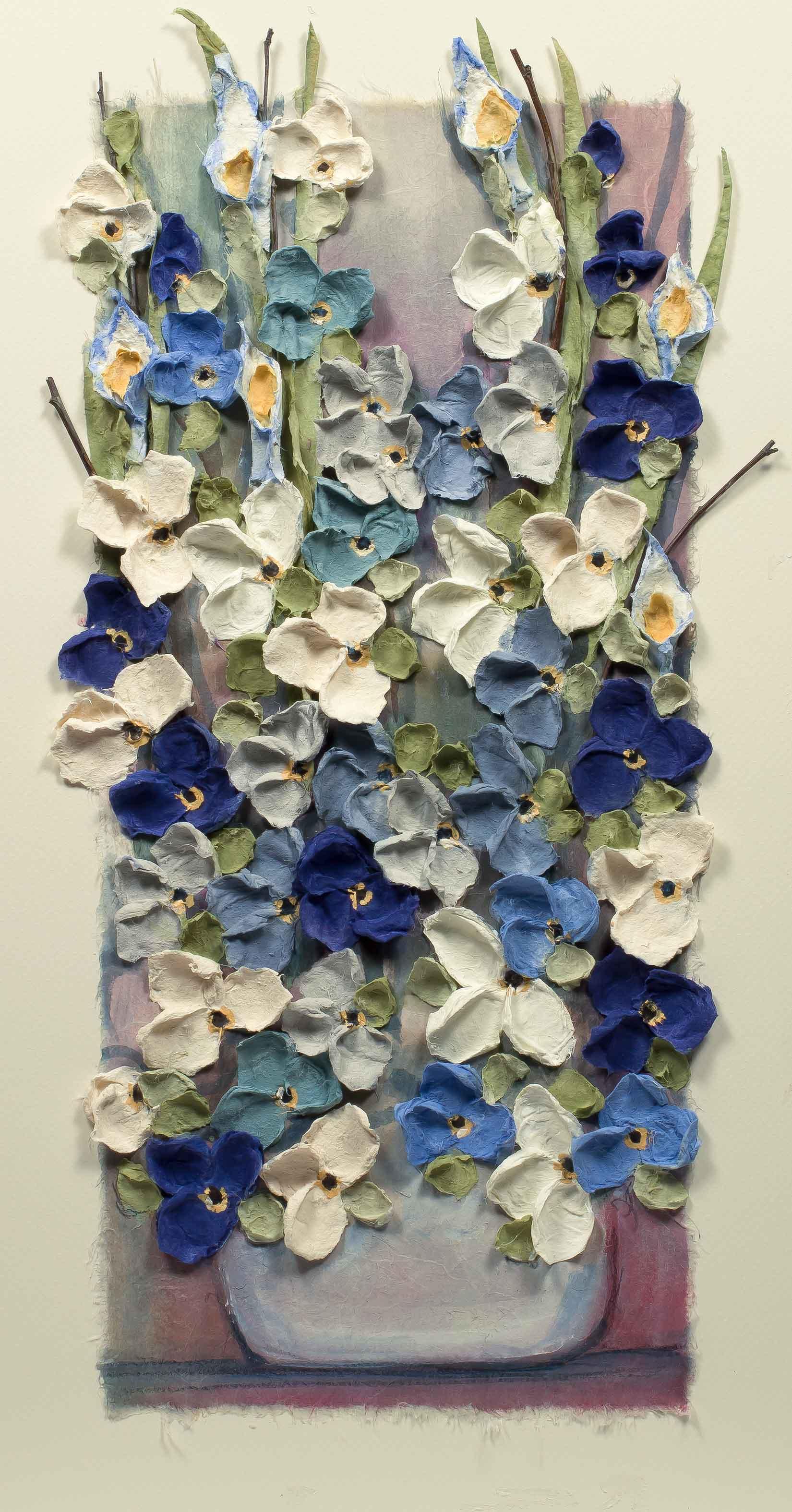 Copy of Mist Floral Vertical 12x22