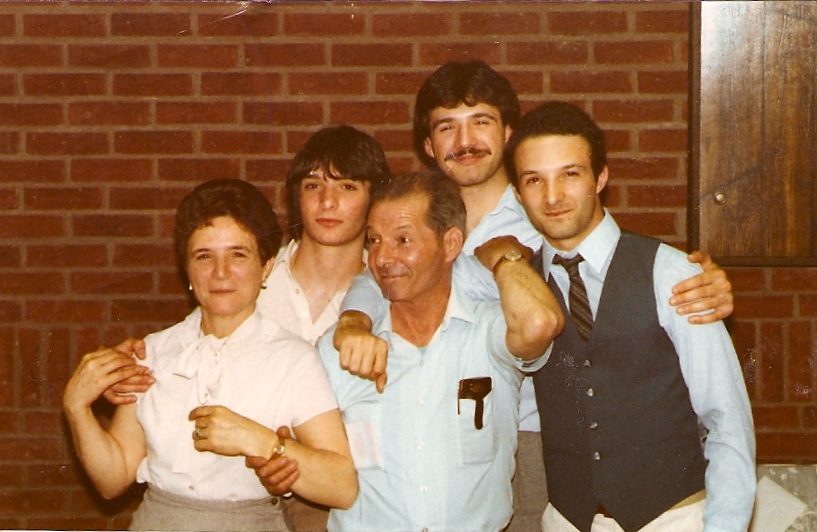 The Cassini Family in Toronto in the 1970s.
