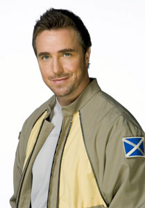 Paul McGillion as Dr. Carson Beckett in  Stargate Atlantis