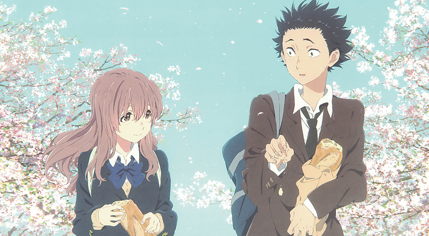 A still from  A Silent Voice .