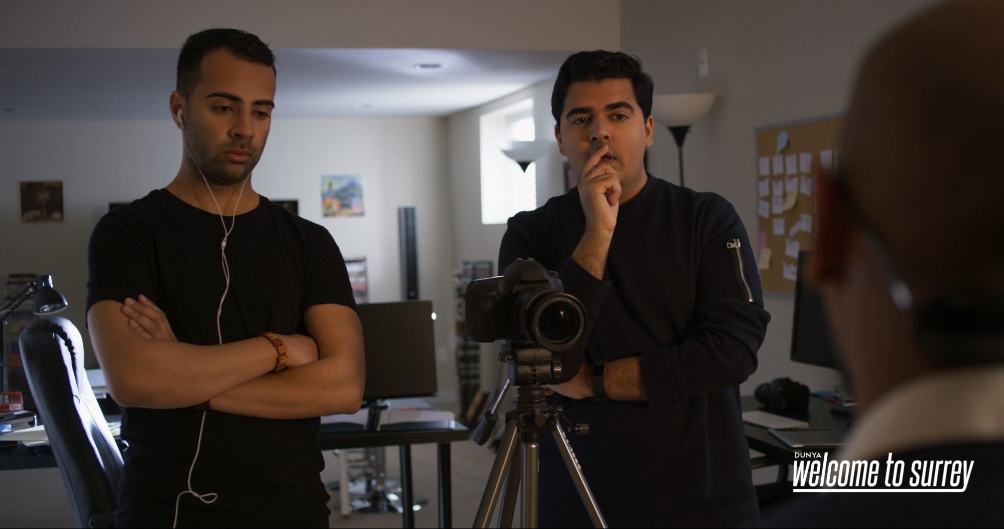 Shyam Valera and Kashif Pasta portray wedding videographers in  Welcome to Surrey .