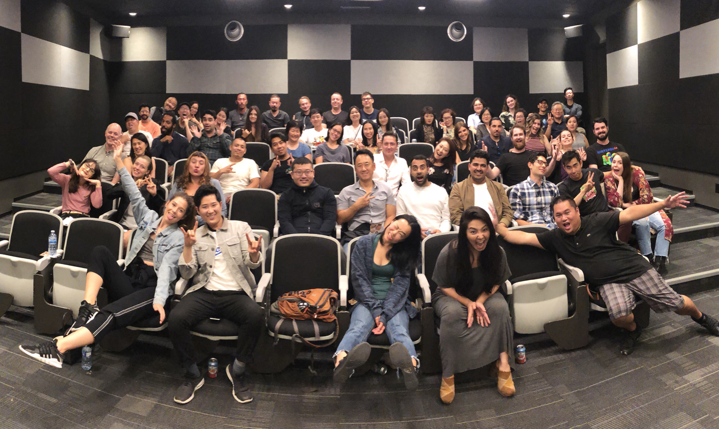 The audience at the cast and crew screening for  The Day We Met ,  Karaoke Mamas , and  Gong Ju . Contributed photo