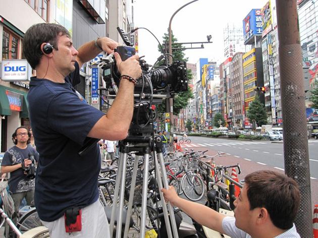 Martin Wood directing  Sanctuary  in Japan.