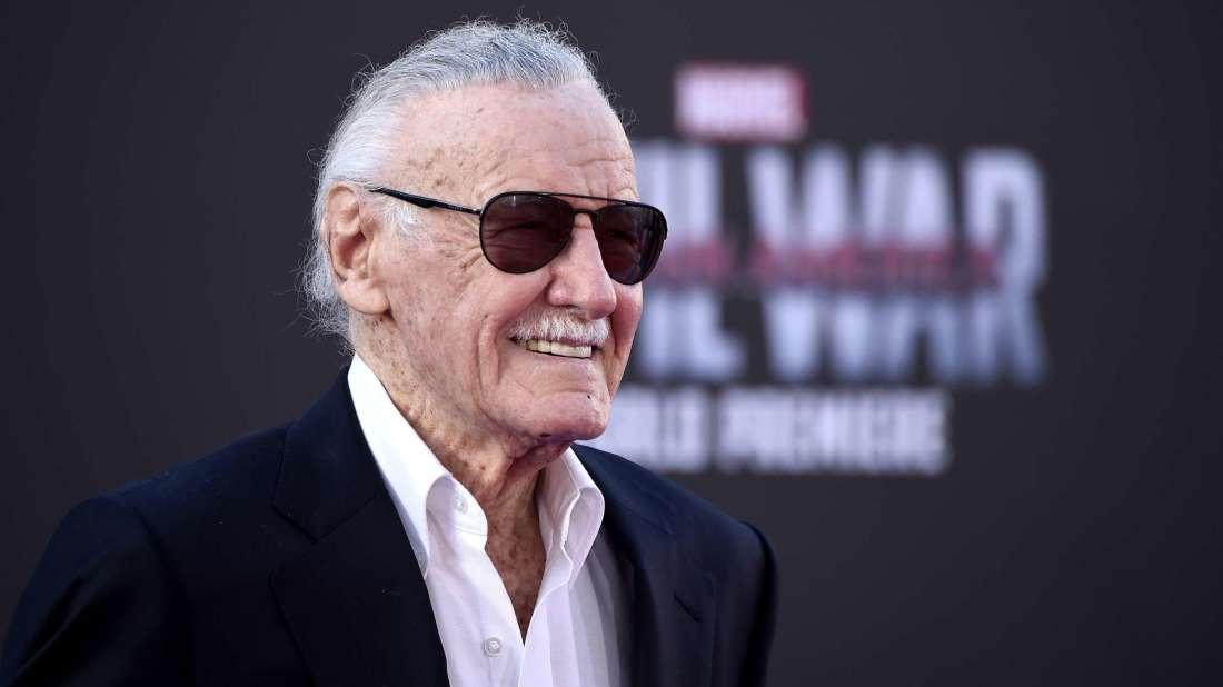 Stan Lee at the Captain America: Civil War premiere.