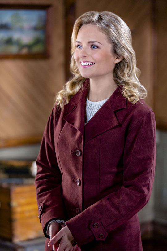 Andrea Brooks in  When Calls the Heart . Photo courtesy of Hallmark and Crown Media