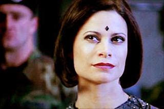 Jacqueline Samuda on  Stargate SG-1 . Contributed photo