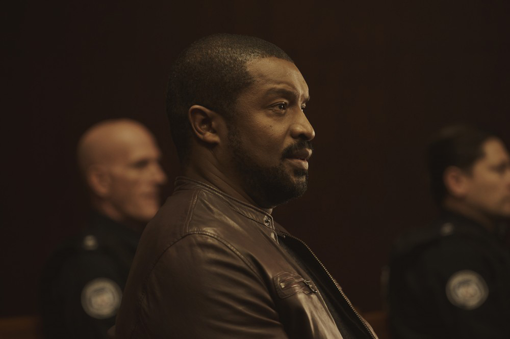 Roger Cross as Detective McAvoy in  Coroner.  Photo courtesy of CBC