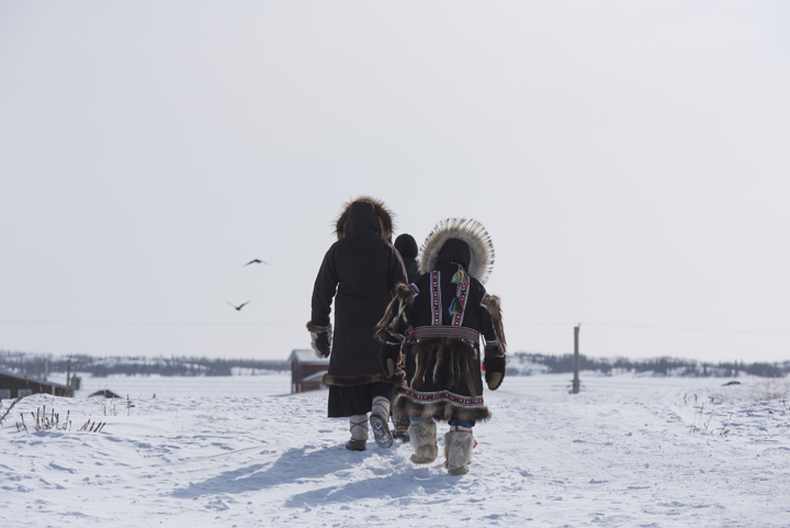 A still from  Red Snow , the first narrative feature-length film from award-winning Indigenous storyteller Marie Clements.
