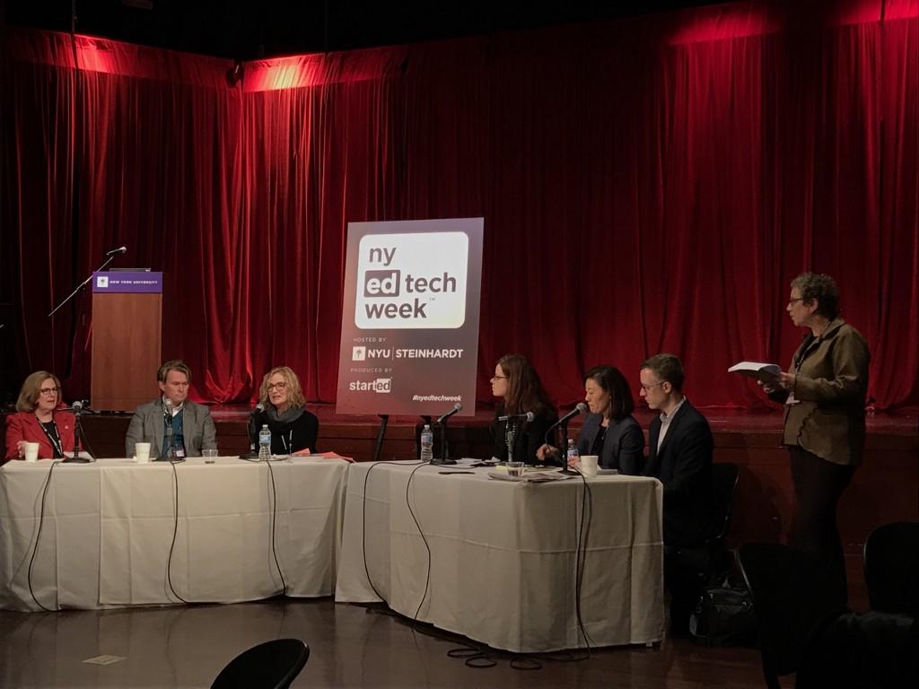 NY EdTech Week Panel 2