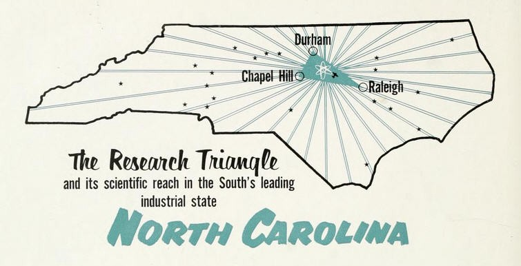 You can learn more about why entreprenuers like Matthew Sniff moved his company to the  Research Triangle