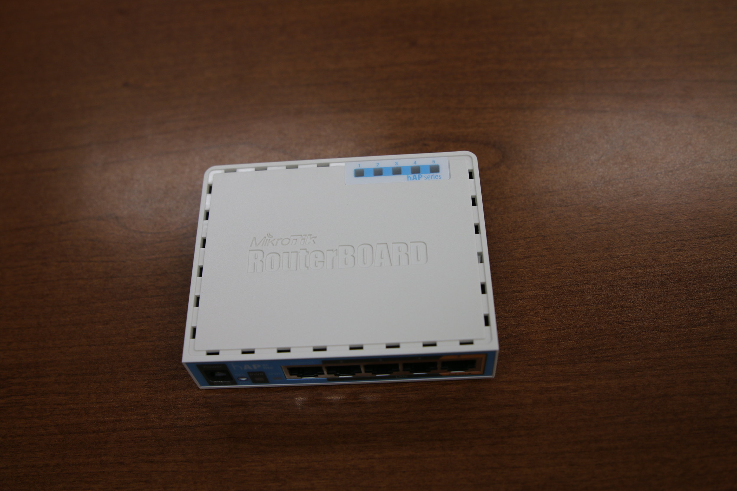 Managed WiFi Router (Walnut Area) - front