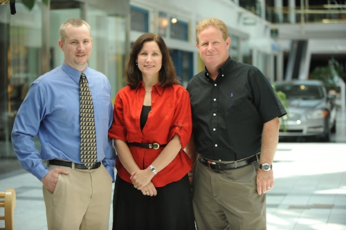 Marketing faculty Steven Posavac, Jennifer Escalas, and Steve Hoeffler.