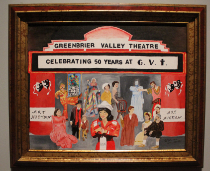 """""""Celebrating 50 Years of G.V.T."""" by Sue and Don Howard. (Photo Courtesy / Greenbrier Valley Theatre)"""