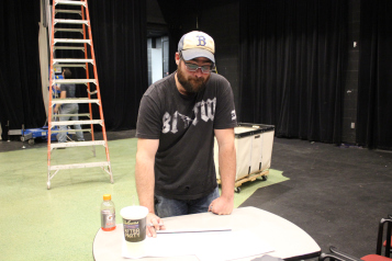 Josh Robinson, Technical Director and Set Designer for  Pippin