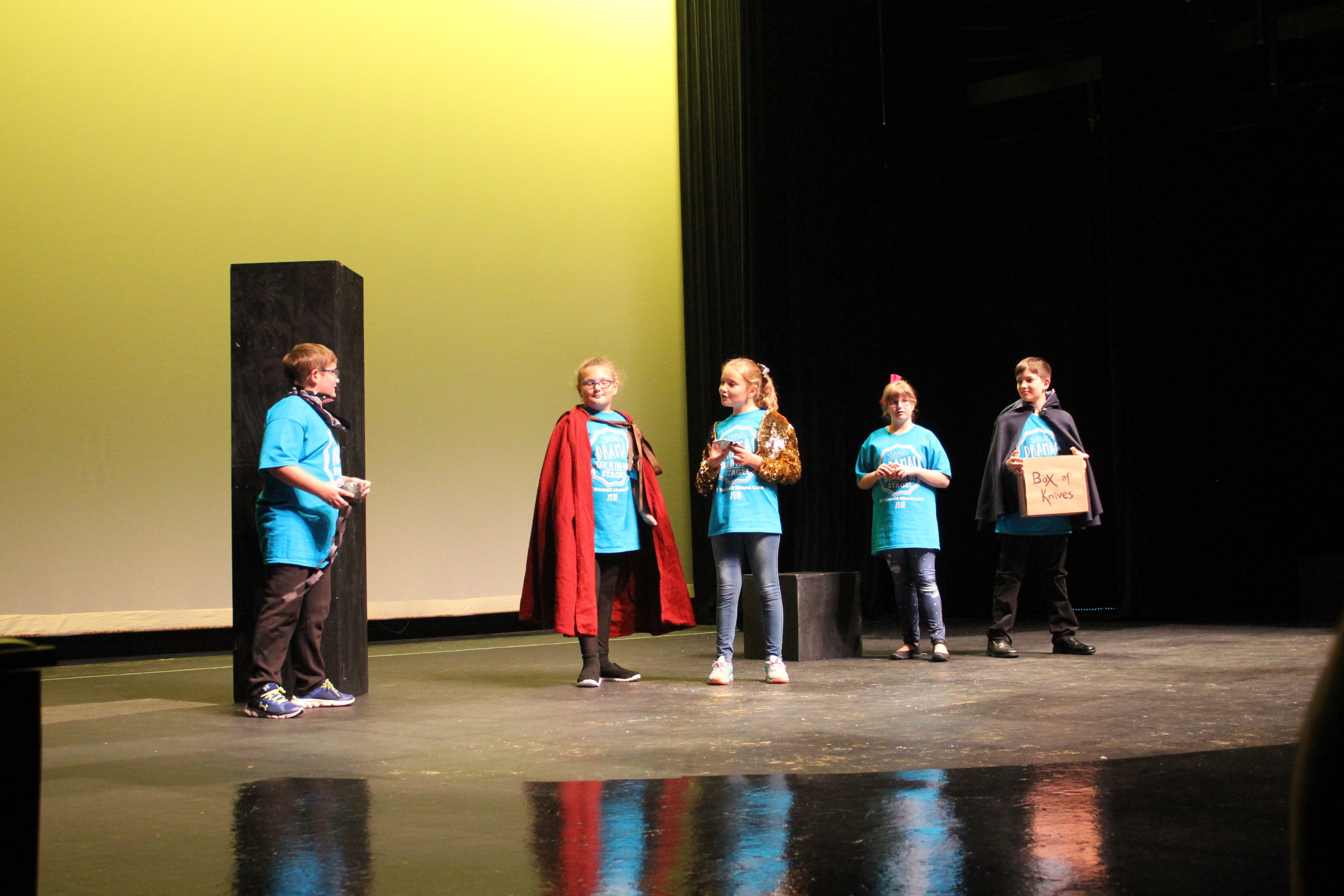 Summer Camp Showcase 2018. (Photo Courtesy / Greenbrier Valley Theatre)