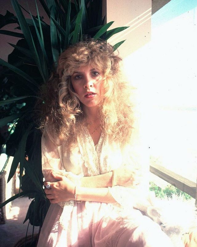 """Don't listen to other people. In your heart of hearts, you know what's best for you."" 〰️ Stevie Nicks 🌿 Photographed by Chris Walter, 1981"