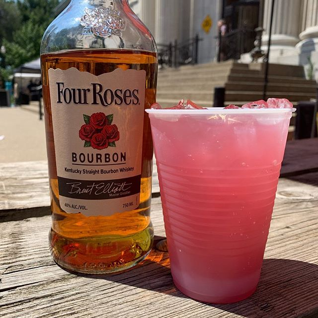 Cool off with a refreshing cocktail from one of our amazing sponsors! @fourrosesbourbon, @smirnoffdom and Don Julio!