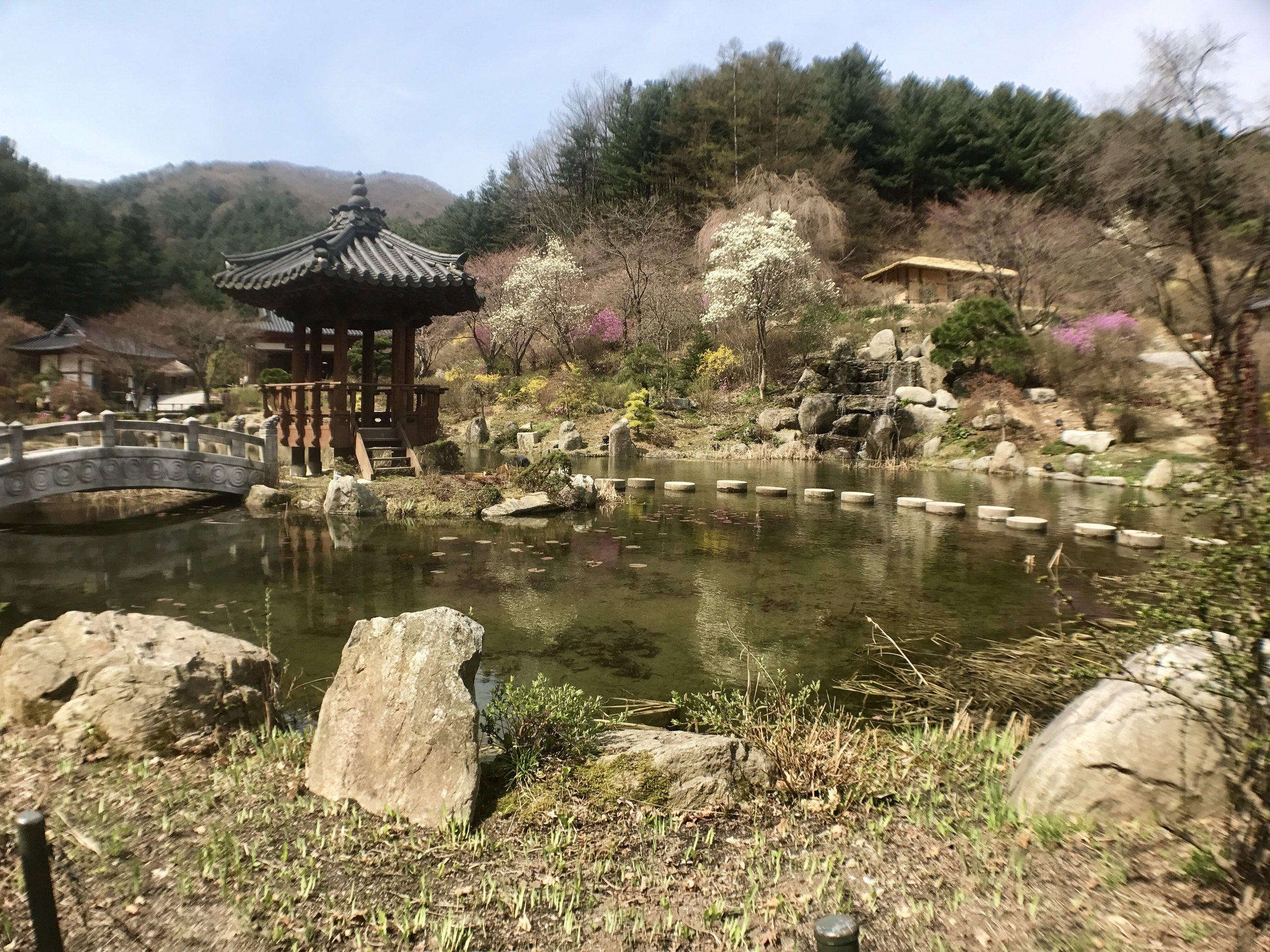 Garden of Morning Calm Landscape