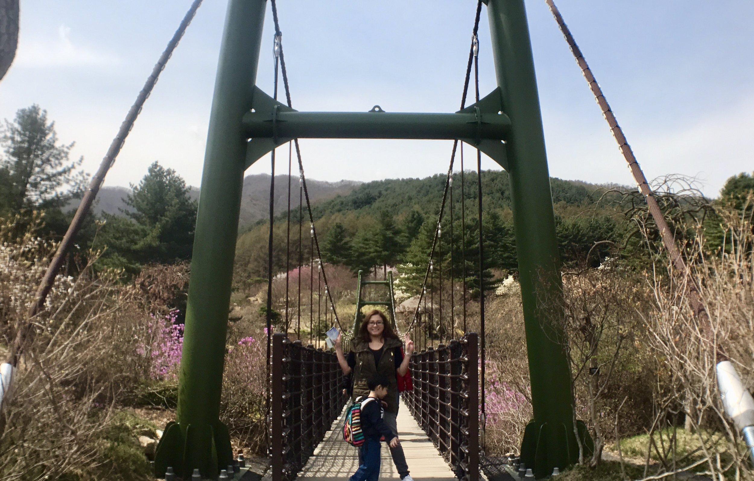 Garden of Morning Calm Bridge