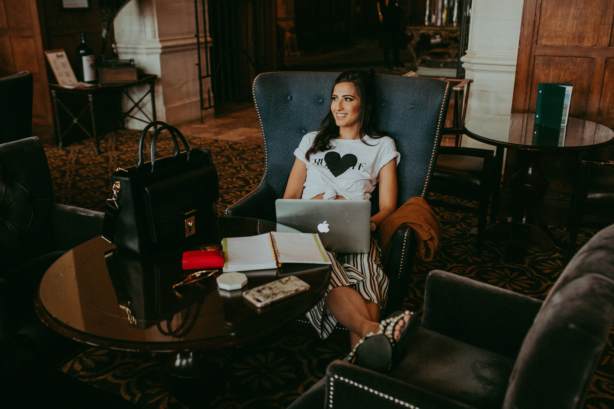 Location:  Fairmont Hotel Macdonald ( http://www.fairmont.com/macdonald-edmonton/ )     Photography:  Terolenn Mykitiuk  ( http://www.terolenn.com/photography )     Hair and Makeup:  Reema Aulakh (instagram:  @reemakestudio )