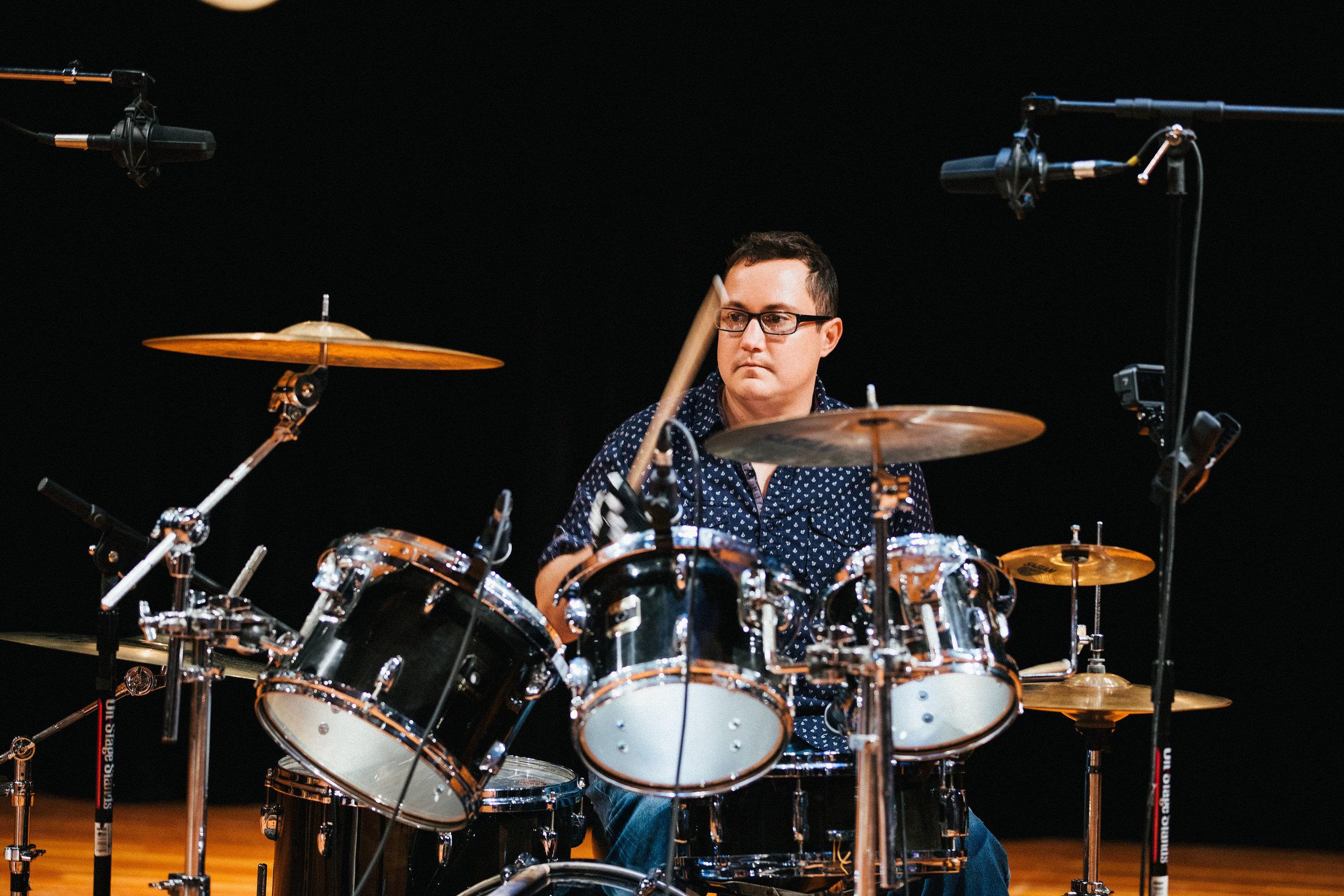 Darby Wootten, Drums
