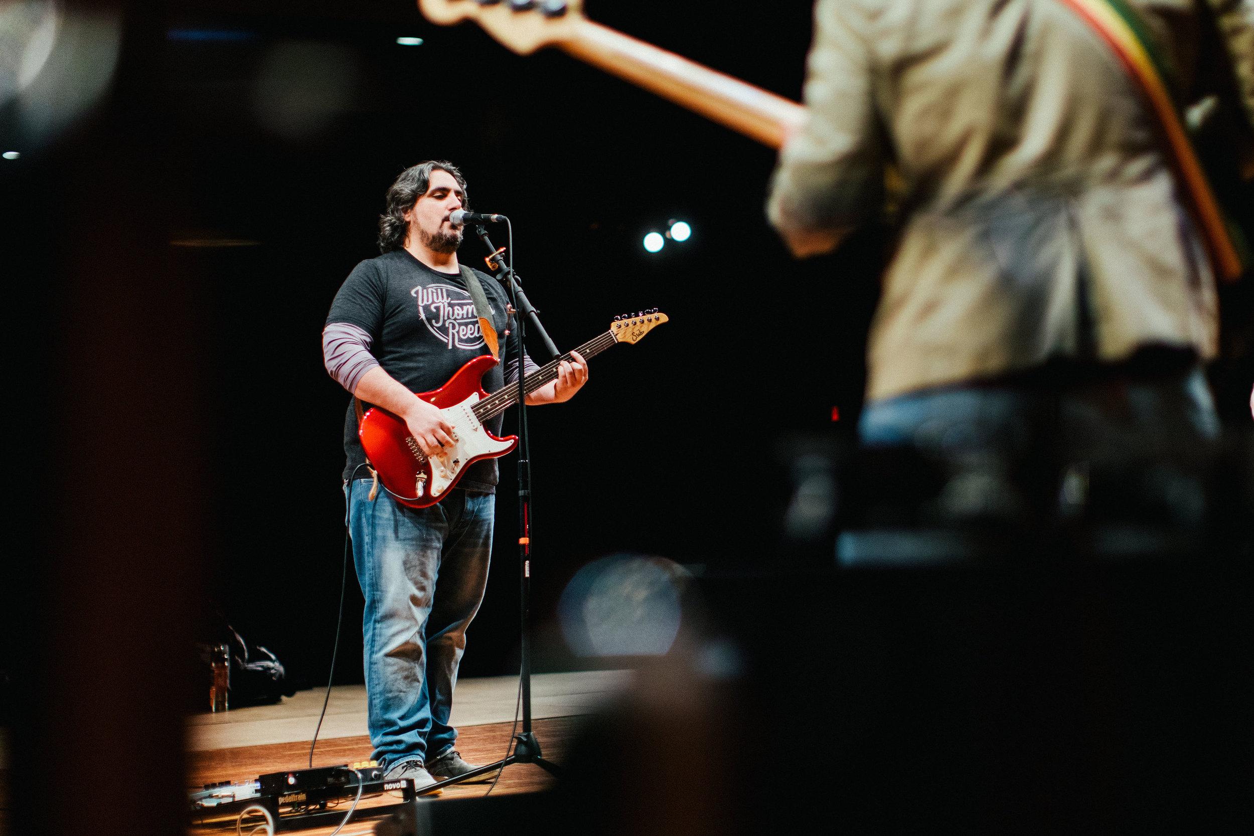 Tony LaRocco, Vocals and Guitars