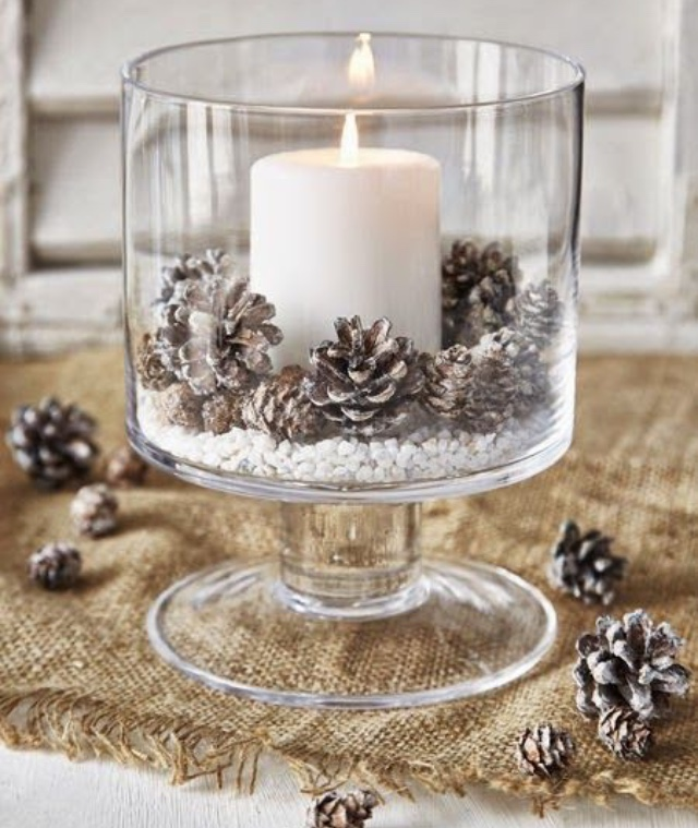 glass jar and candles burlap DIY the wealth babe frosted and elegant.jpg