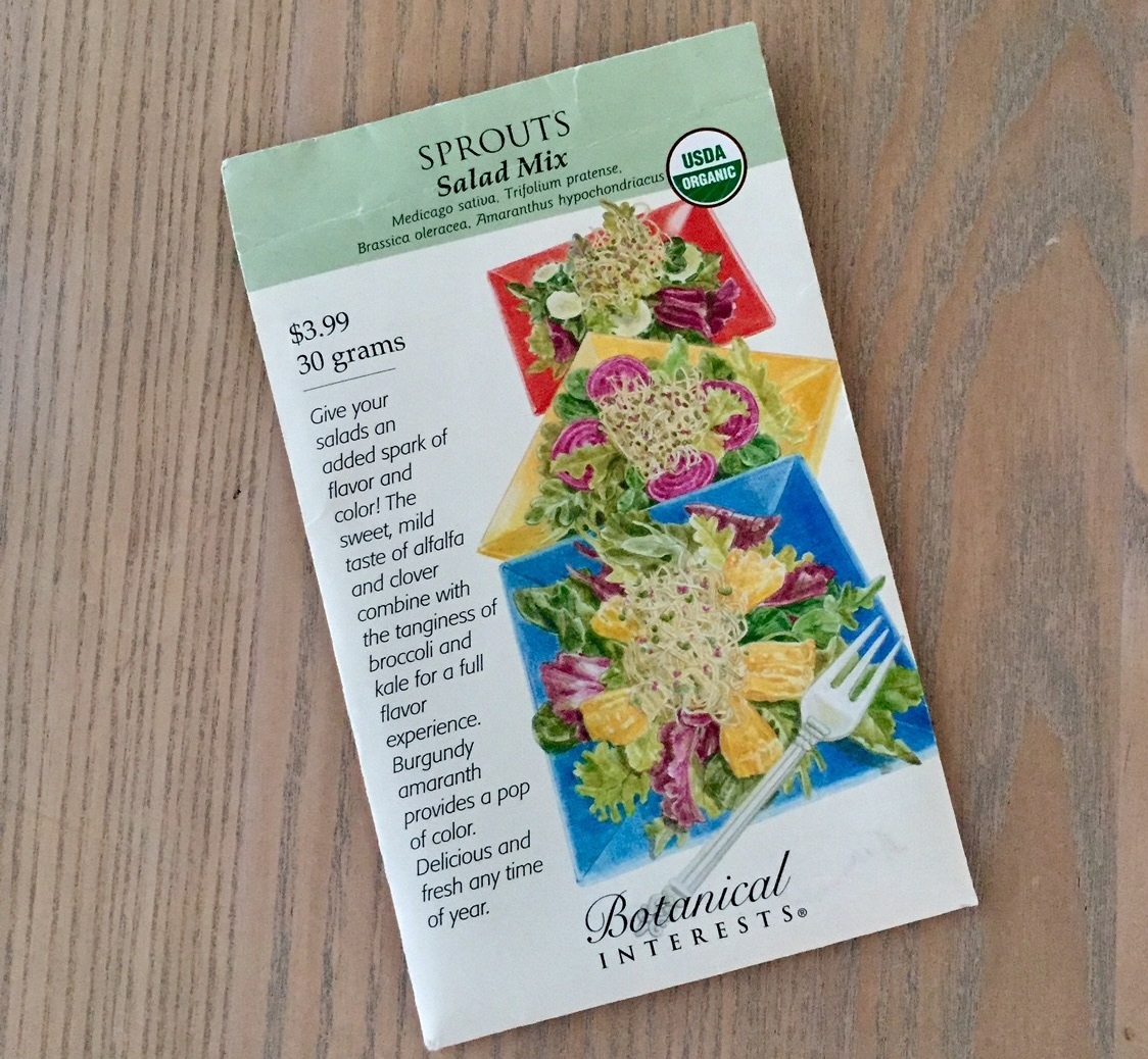 DIY Grow your own Sprouts