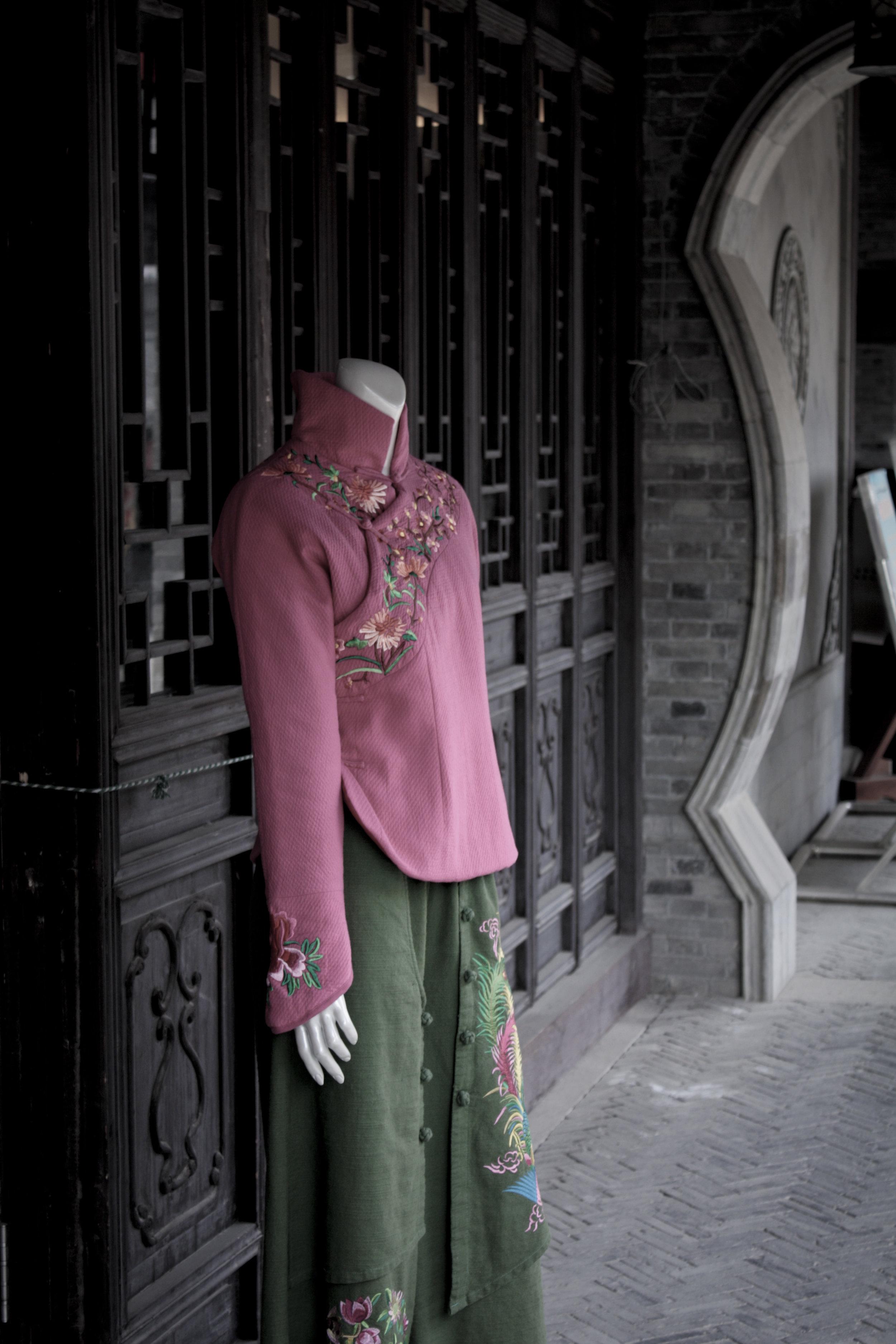 Dress Stitching, Penny Wang