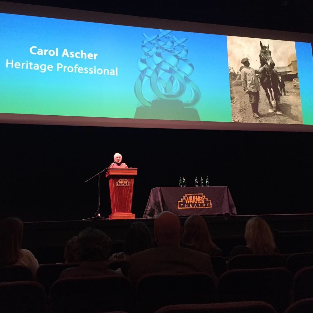 NW CT Arts Council CultureMAX Award - Carol is the recipient of the 2018 CultureMax Heritage Professional Award from the Northwest Connecticut Arts Council for her exhibit,