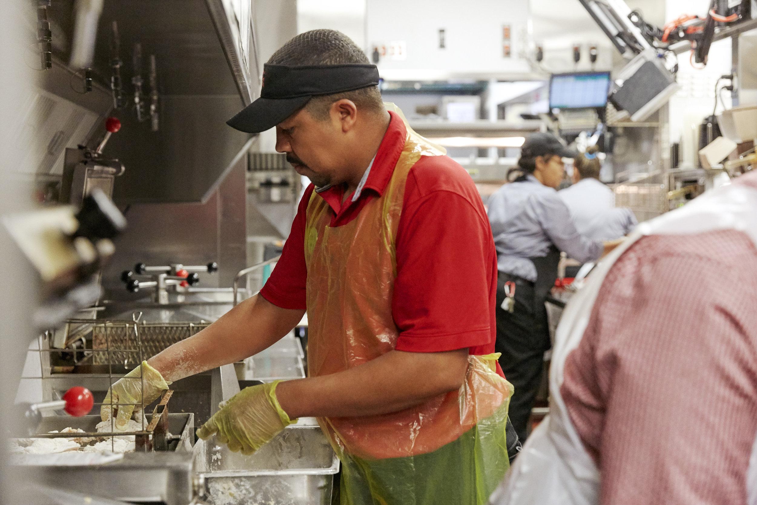 Miembros del equipo de cocina -