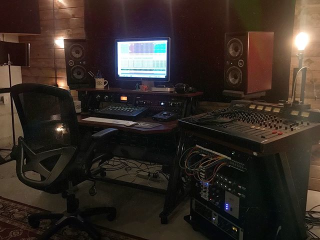 Started mixing an awesome record today for @joecanadamusic!