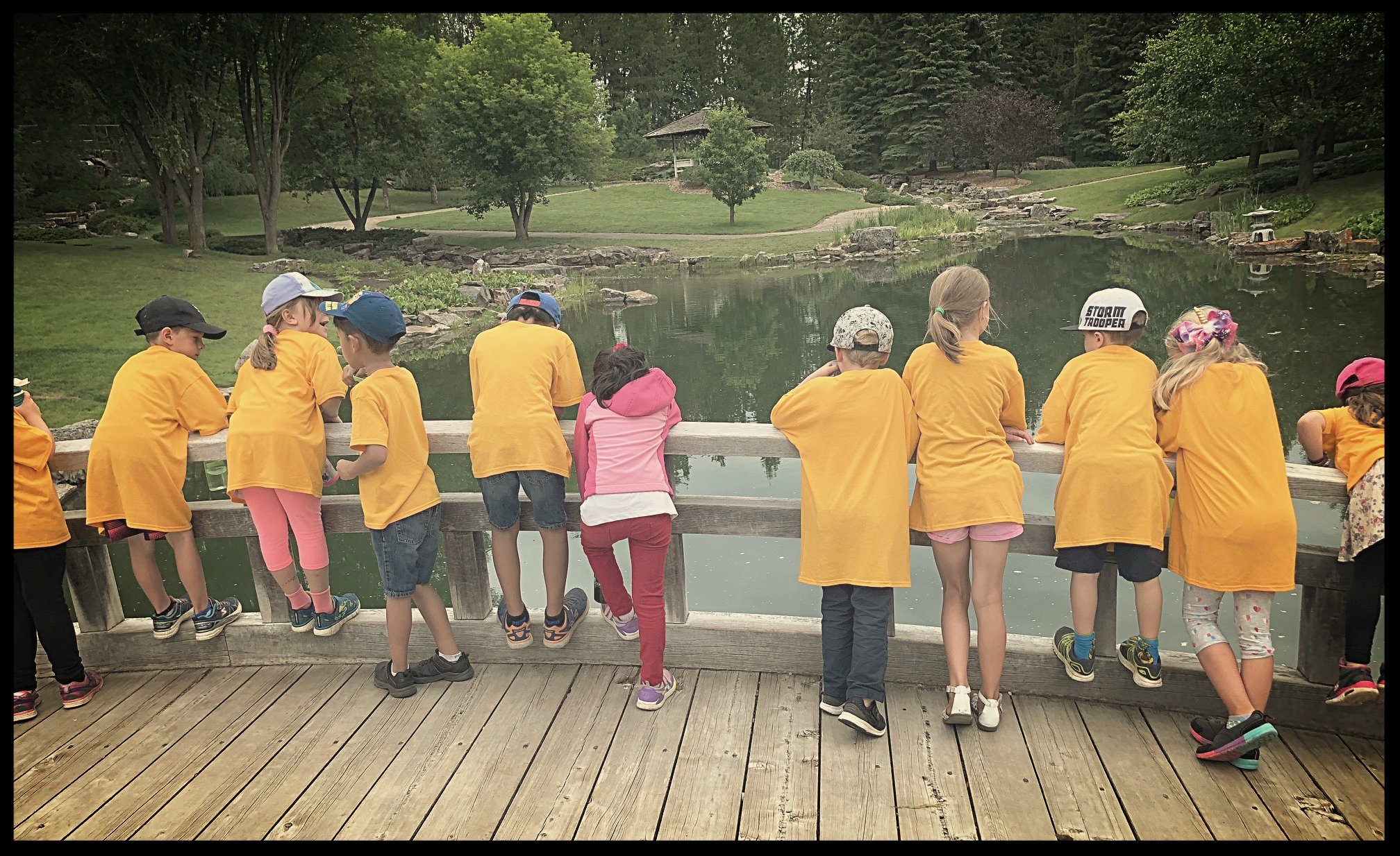 Discovery Place Rideau Park offers children    nature-based, child-lead programming.