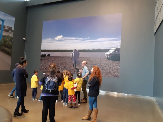 Discovery OSC students visit the Art Gallery of Edmonton