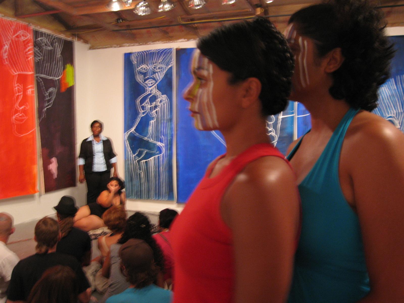 Annelize Machado_Surabhi Kukke as Ife Heads.JPG
