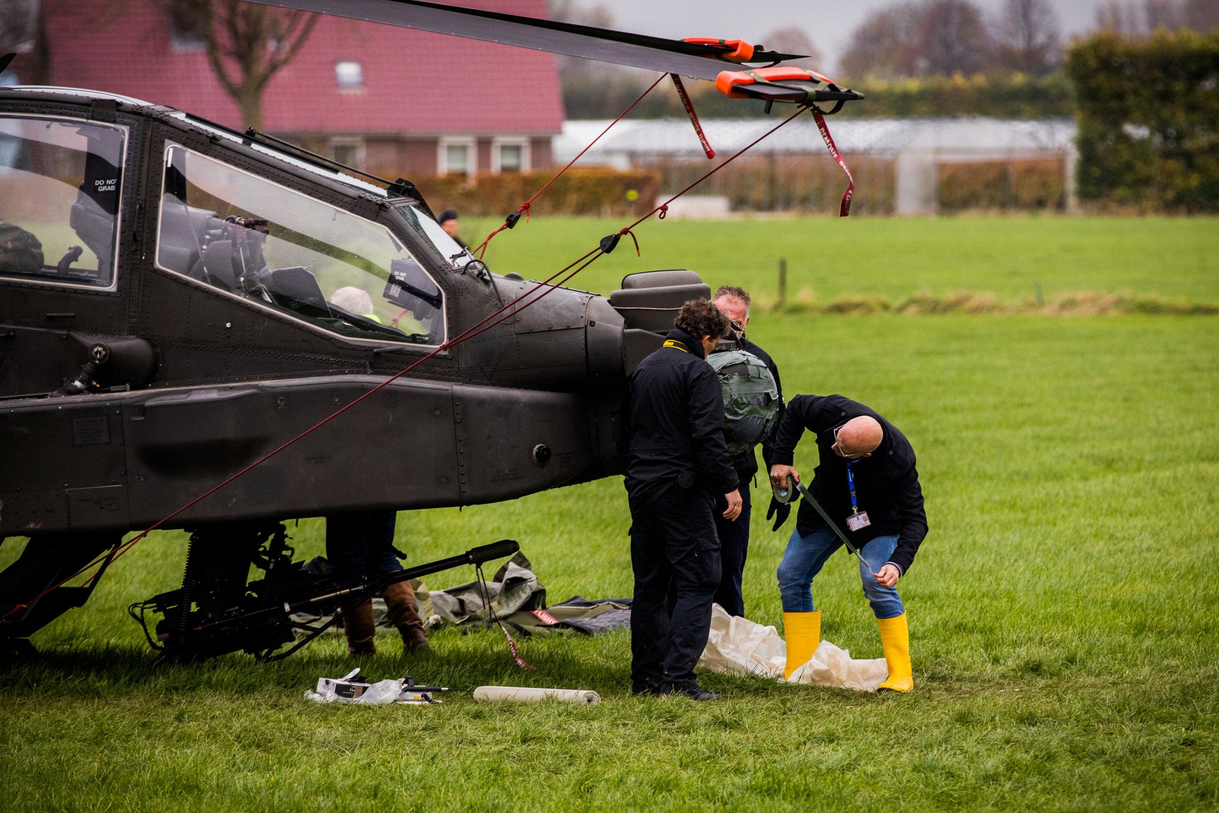 Onderzoek naar helikopterongeluk Zoelmond