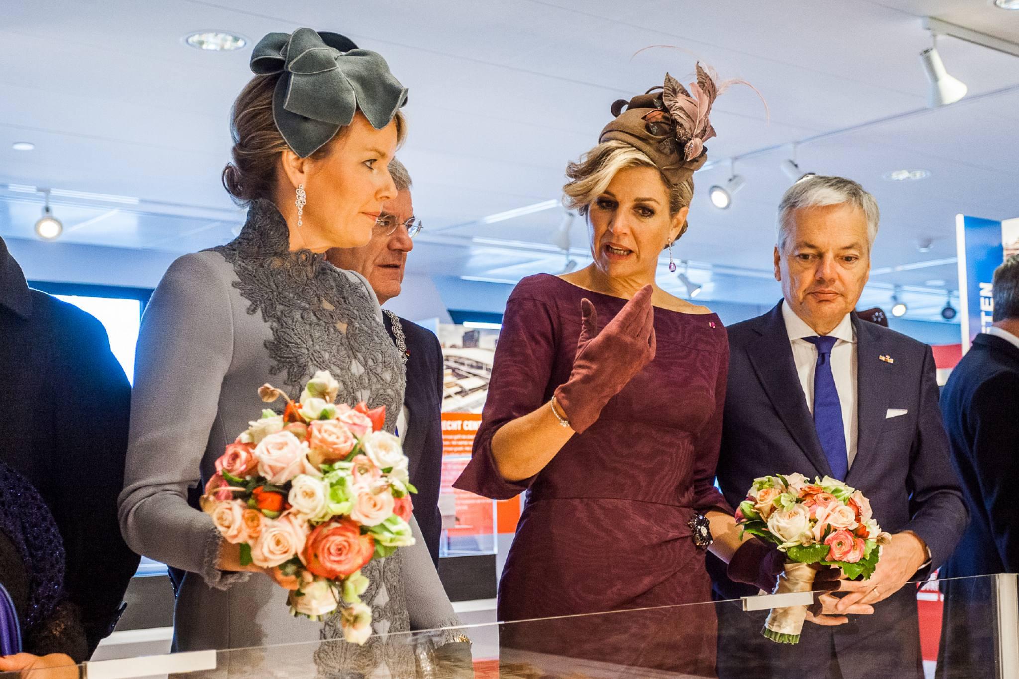 nederlandse en belgische koninginnen bezoeken utrecht