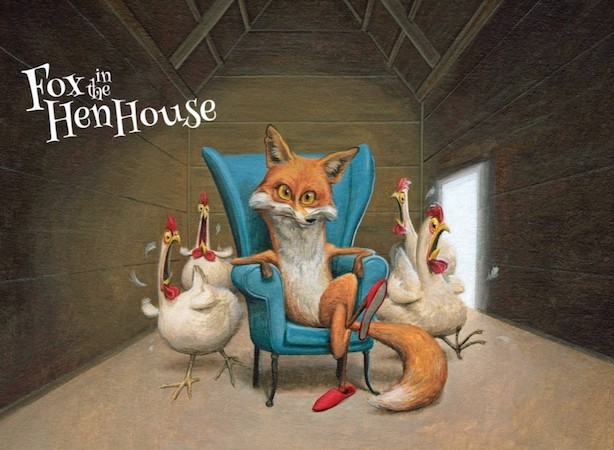 Fox in the Hen House wines -- pleasure in a glass!