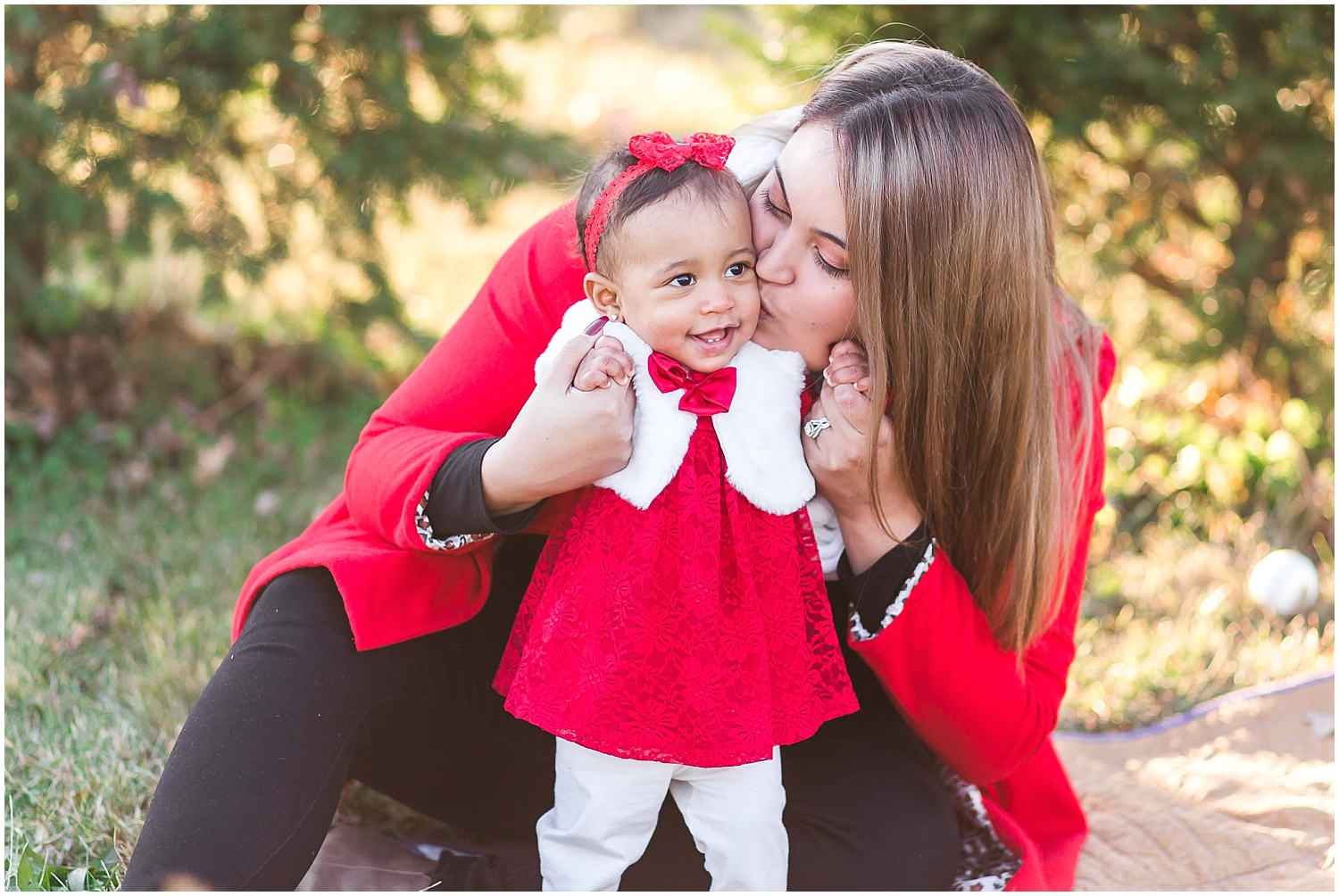 mommy daughter portrait