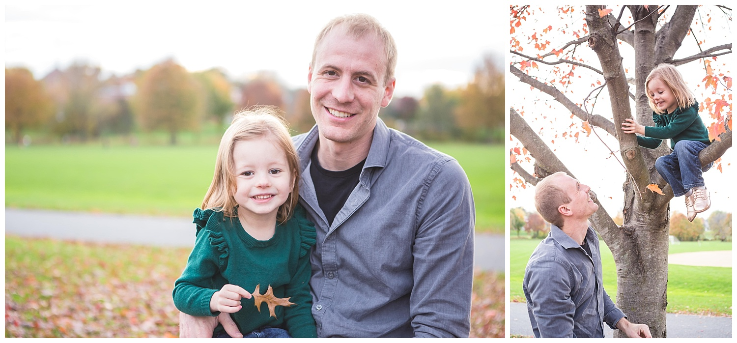 dad and daughter fall pictures