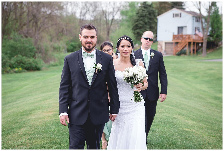 wedding party portraits