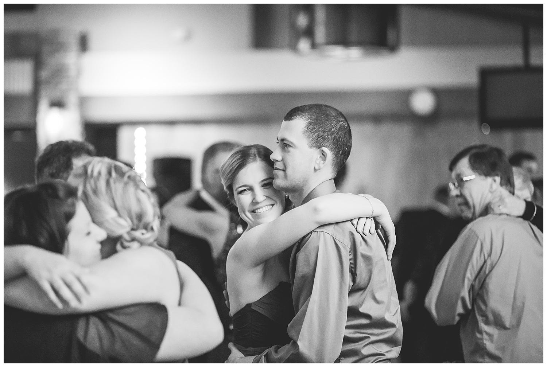 couple dances at wedding reception