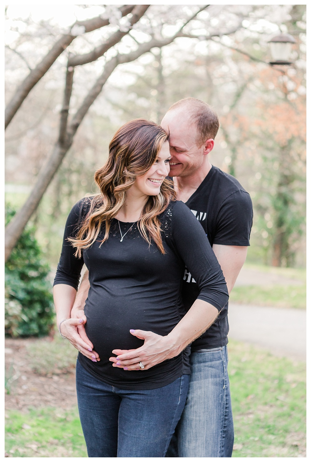 spring maternity session