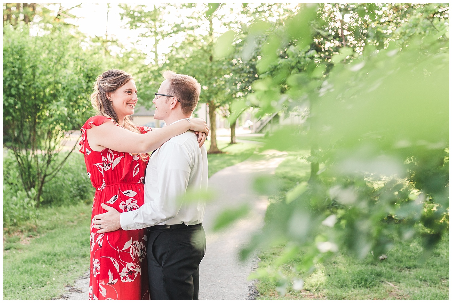outdoor spring anniversary session, lititz, pa
