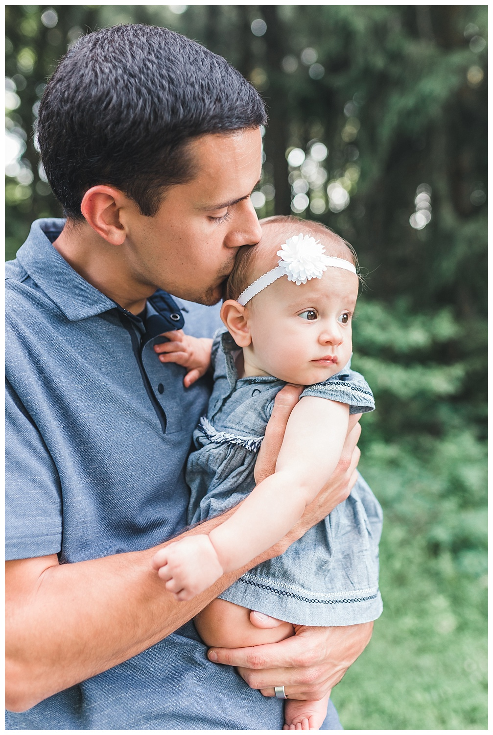 father and baby daughter, ephrata pa