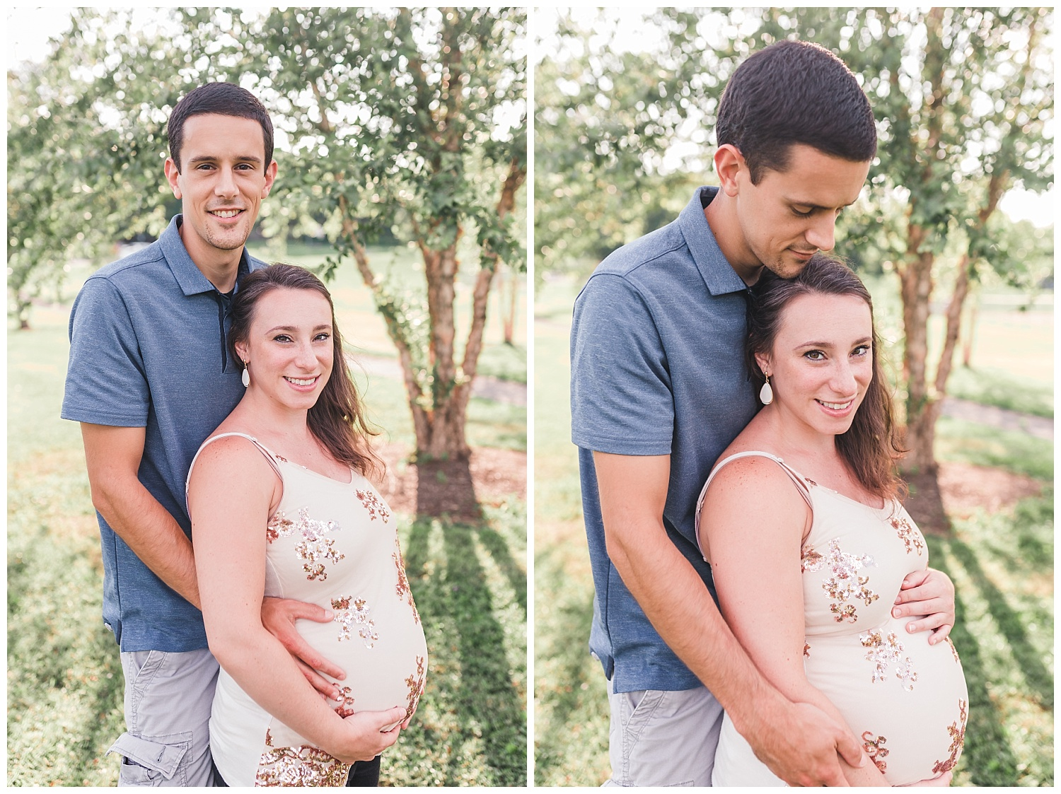 summer maternity session, akron pa, roland park