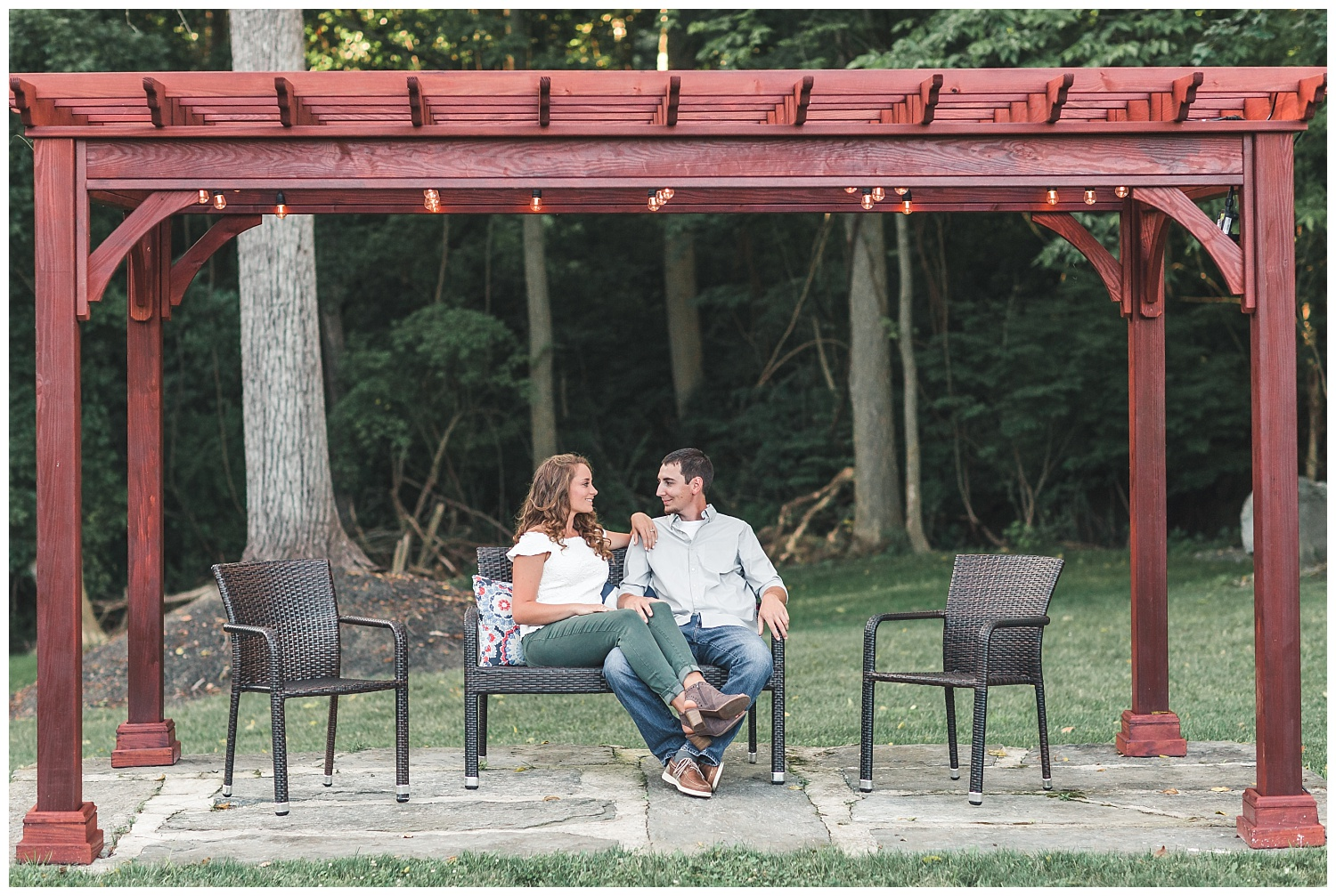 summer engagement session, lancaster, pa, the mill at manor falls