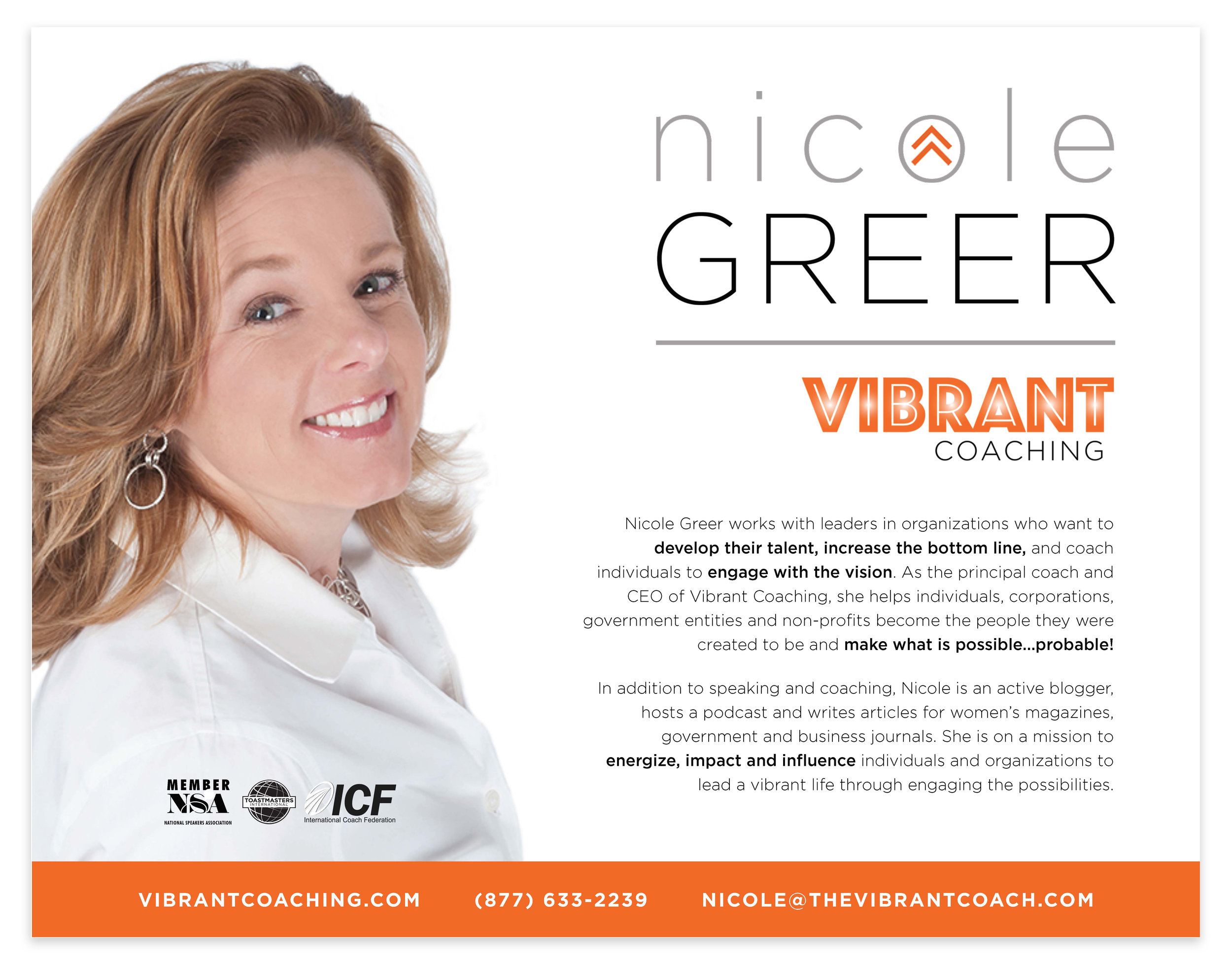 NICOLE'S PROFESSIONAL ONE-SHEET — CLICK BELOW TO DOWNLOAD