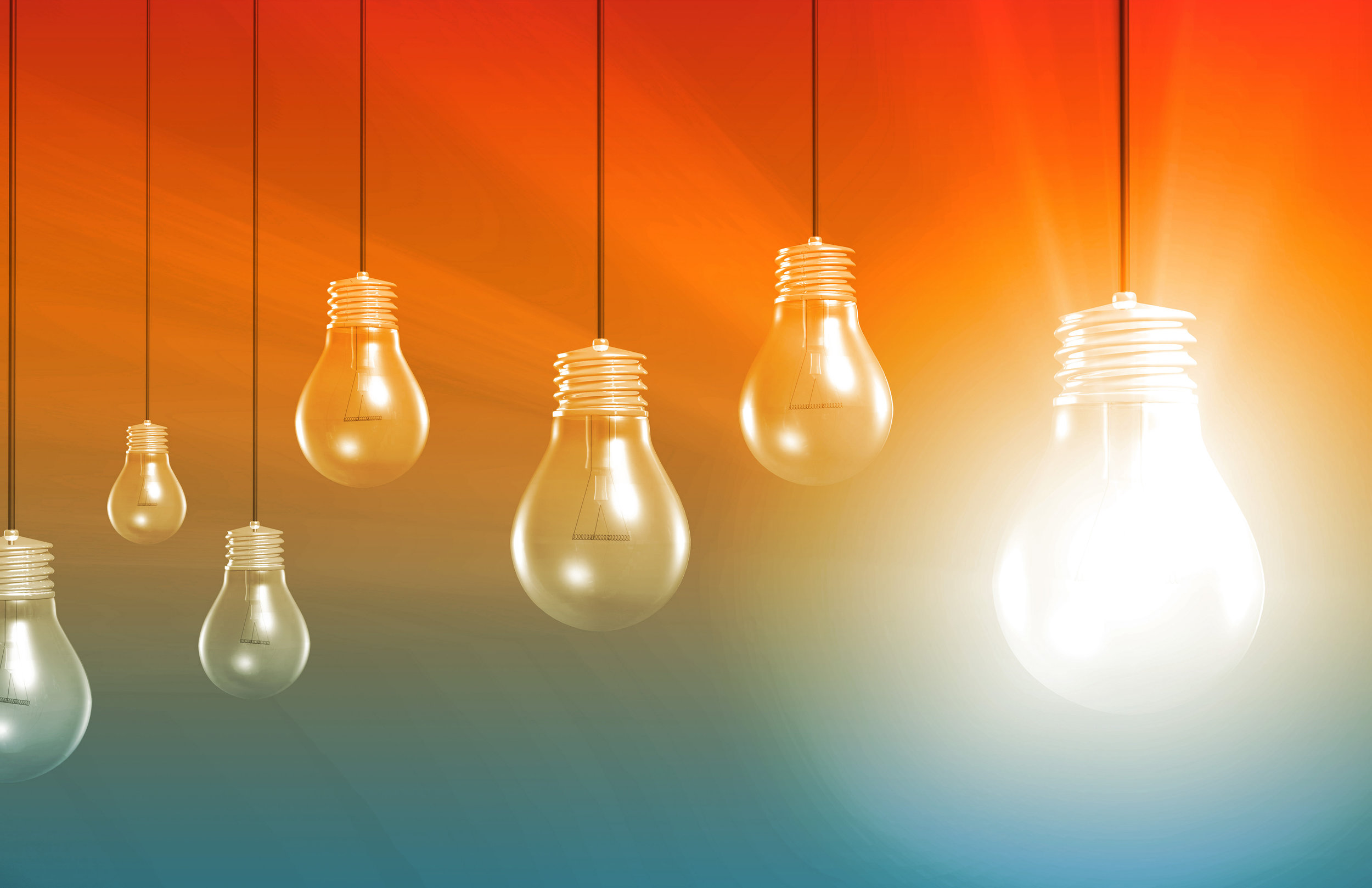 Think in terms of what's possible. - When you think in terms of what's possible, light floods your mind with opportunities, illuminates connections and creates fusion between ideas and strategies, systems and the smarts needed to carry out ideas.